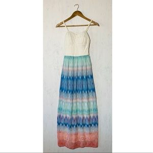 Lily Rose Maxi Dress Women's Size XS